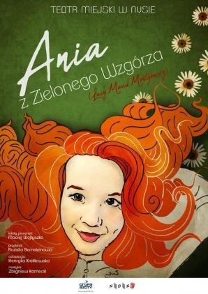 Spektakle ,,Ania z Zielonego Wzgórza'' odwołane  Kliknięcie w obrazek spowoduje wyświetlenie jego powiększenia